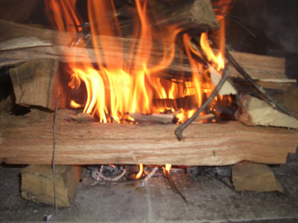 using a wood fired oven belforno
